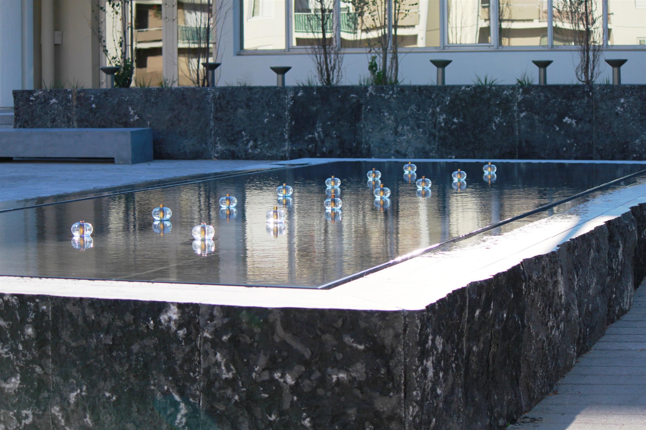 Buffet d'eau