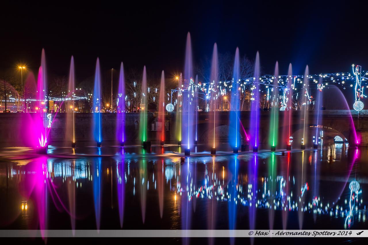 Show aquatique scénique et musical