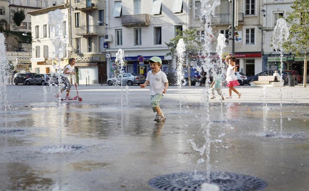 Ville d'Annonay (69) - Aménagement de la Place des Cordeliers