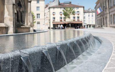 Prix Spécial du Jury : Fontaine de la Place de l'Âtre à Épinal
