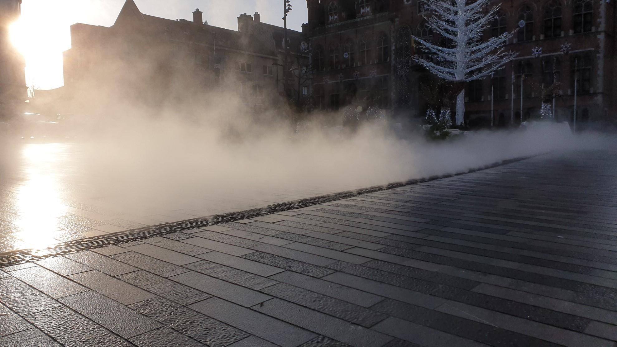 Faille de brume de 80 mètres linéaires
