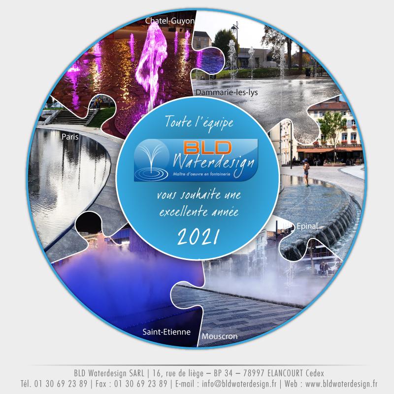 Bureau d'études en fontainerie BLD WaterDesign